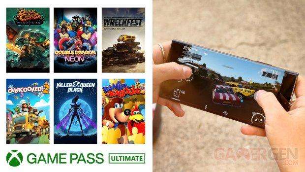 Xbox Game Pass 20 04 2021 nouveautés commandes tactiles fin avril 2021
