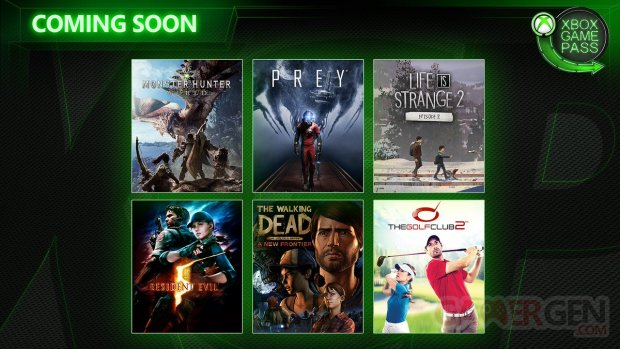 Xbox Game Pass avril 2019 head