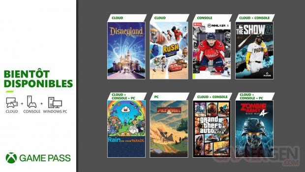 Xbox Game Pass avril 2021 GTA Grand Theft Auto V