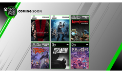 Xbox Game Pass juillet 2019
