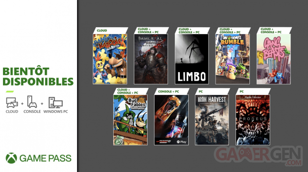 Xbox Game Pass juin 2021 nouveautés