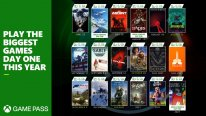 Xbox Game Pass launch day one 2021