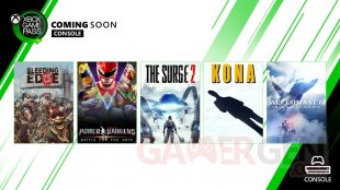 Xbox Game Pass mars 2020 1