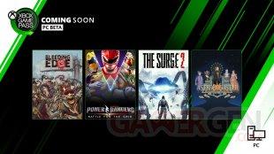 Xbox Game Pass mars 2020 2