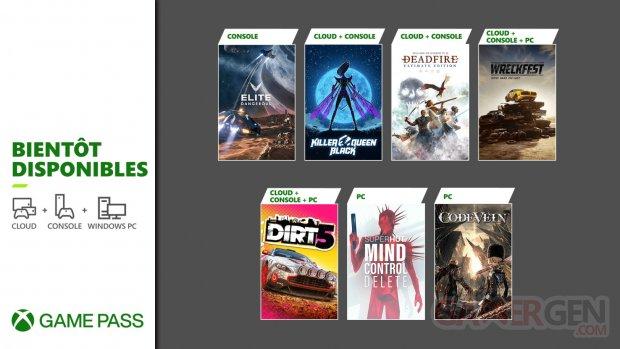 Xbox Game Pass nouveautés fin février 2021