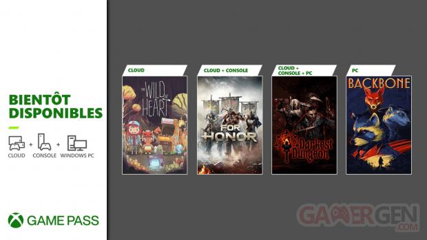 Xbox Game Pass nouveautés juin 2021