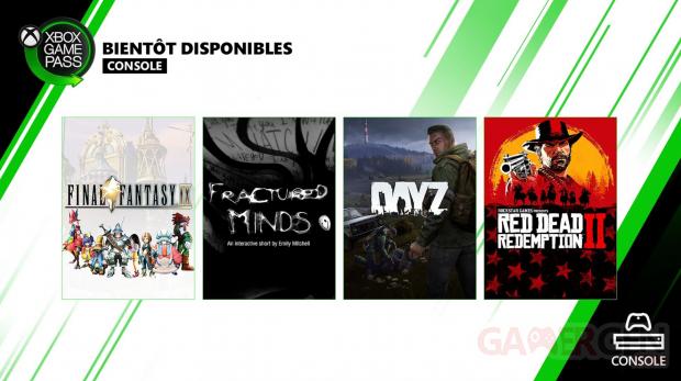 Xbox Game Pass pour Console 06 05 2020 nouveautés