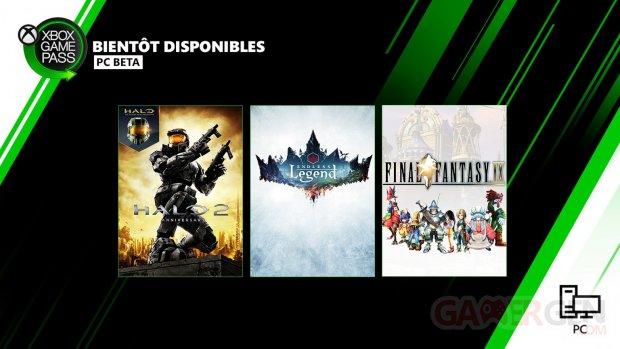 Xbox Game Pass pour PC 06 05 2020 nouveautés