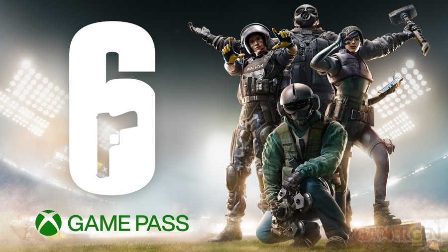 Rainbow Six Siege arrive dans le Xbox Game Pass