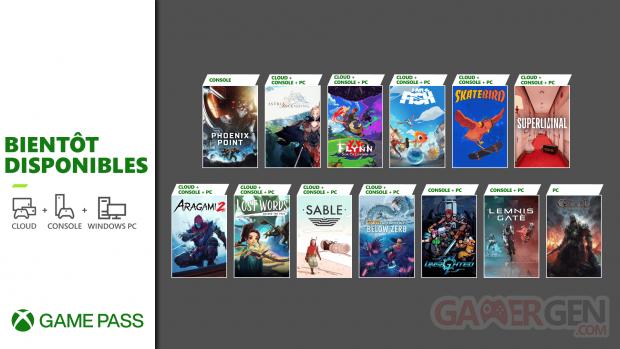 Xbox Game Pass septembre 2021