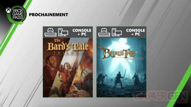 Xbox Game Pass The Bard's Tale