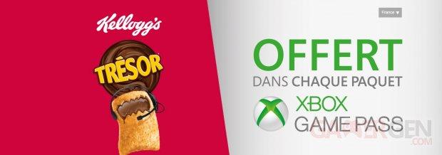 Xbox Game Pass Trésor Kellogg's