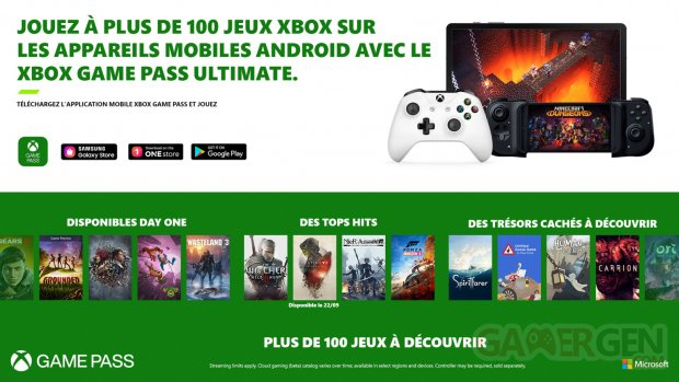 Xbox Game Pass Ultimate lancement cloud gaming