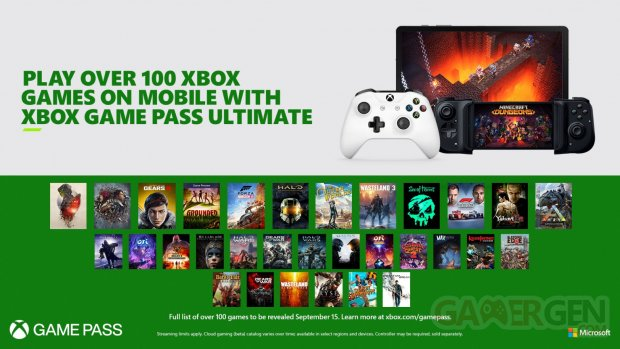 Xbox Game Pass Ultimate xCloud date release