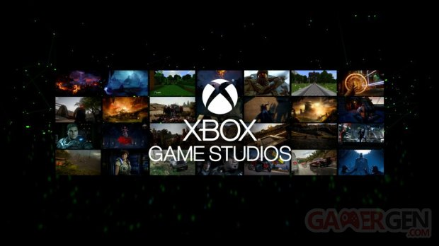 Xbox Game Studios logo head banner Microsoft