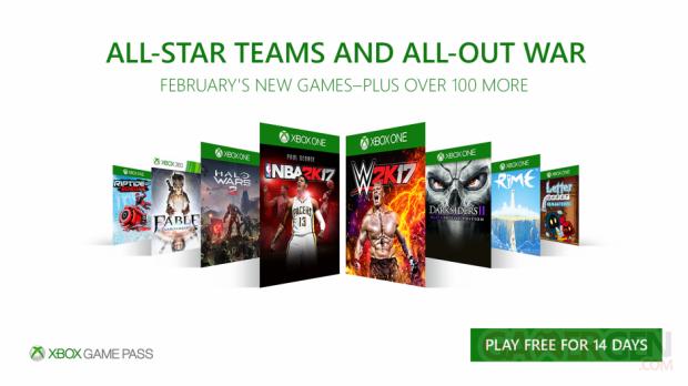 Xbox GamePass 16x9 February Final Asset hero hero hero