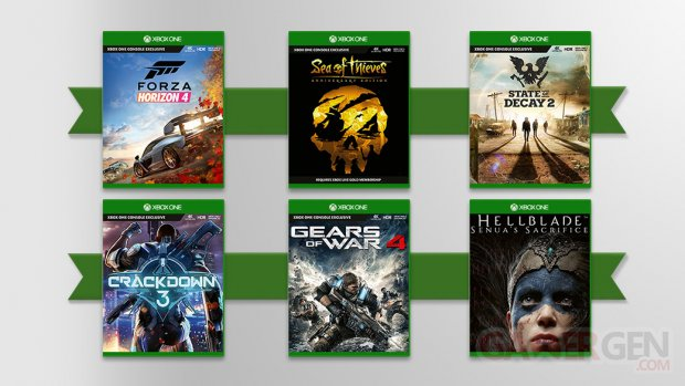 Xbox games 2019