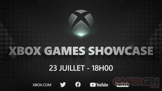 Xbox Games Showcase date annonce présentation jeux exclusifs