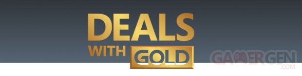 Xbox Live Deals with Gold logo image