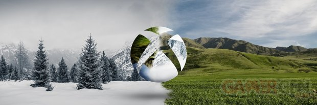 Xbox logo banner