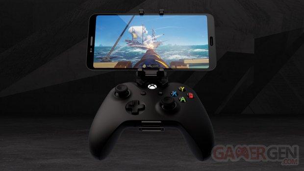 Xbox Manette Project xCloud clip