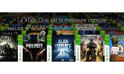 Xbox One 360 rétrocompatibilité head banner