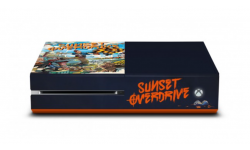 Xbox One collector comic con sunset overdrive