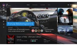 Xbox One nouveau dashboard