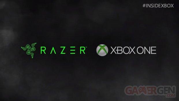 Xbox One Razer partenariat 11 11 2018