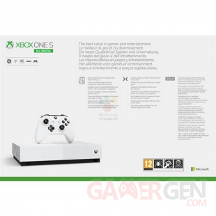 Xbox One S All Digital Edition fuite images leak annonce microsoft (1)