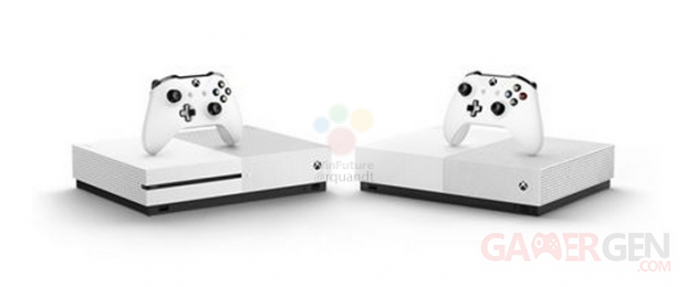 Xbox One S All Digital Edition fuite images leak annonce microsoft (2)