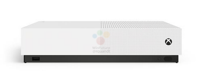 Xbox One S All-Digital Edition fuite images leak annonce microsoft (4)