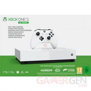 Xbox One S All Digital Edition fuite images leak annonce microsoft (6)