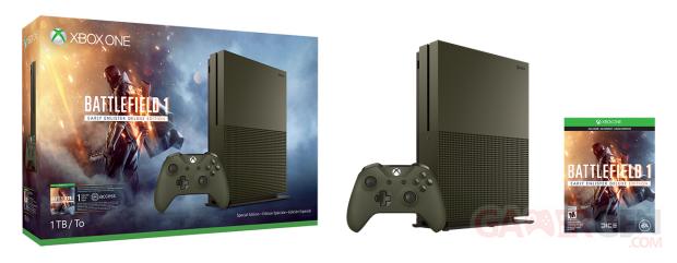 Xbox One S Battlefield 1 Special Edition Bundle 1TB
