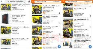 Xbox One X Cyberpunk Edition Limitée collector Prix abusés   02