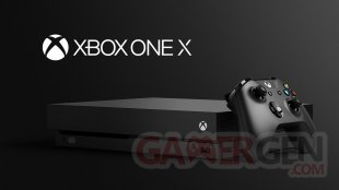 Xbox One X official hardware visual