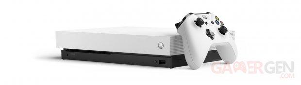 Xbox One X White Robot blanc2
