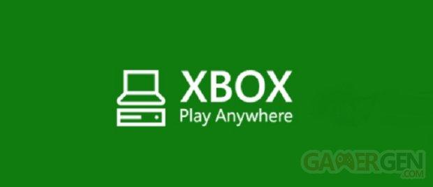Xbox Play Anywhere logo head