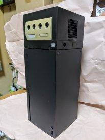 Xbox Series X  et GameCube