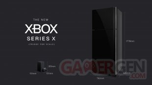 Xbox Series X Fridge for Scale taille comparaison images