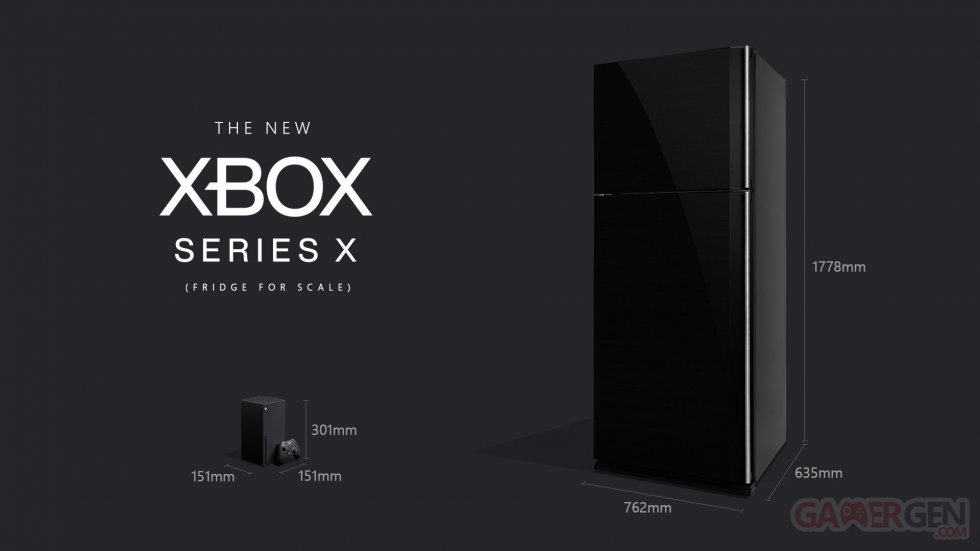 Xbox-Series-X_Fridge-for-Scale_taille-comparaison-images