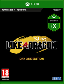 Xbox Series X jaquette mock up sega Yakuza Like a Dragon