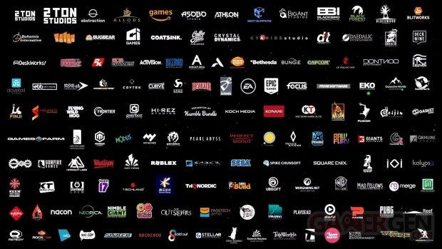 Xbox Series X line up jeux games liste éditeurs développeurs