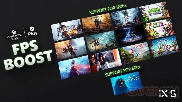 Xbox Series X S 22 04 2021 FPS Boost EA