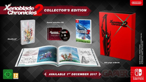 Xenoblade Chronicles 2 collector images
