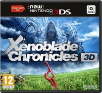 Xenoblade Chronicles 3D jaquette euro france
