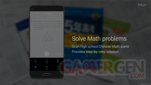Xiaomi conference MIUI 8 scanner maths