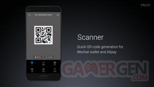 Xiaomi conference MIUI 8 scanner
