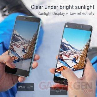 Xiaomi Mi 5 ecran