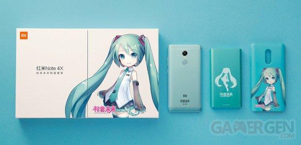 Xiaomi Redmi Note 4 X Hatsune Miku pack